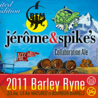 Jerome and Spike's Collaboration Barley Ryne Ale
