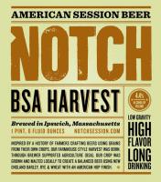 Notch BSA Harvest Ale