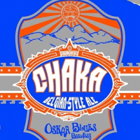 Chaka Belgian Ale label (Oskar Blues version with Sun King)