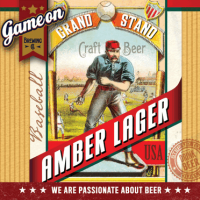 Game On Grand Stand Amber Lager