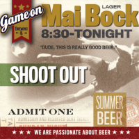 Game On Mai Bock Lager