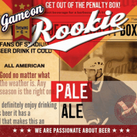 Game On Rookie Pale Ale
