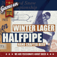 Game On Halfpipe Winter Lager