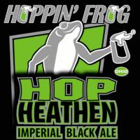 Hoppin' Frog Hop Heathen Imperial Black Ale