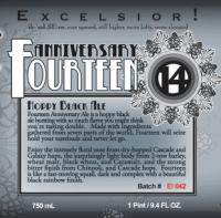 Ithaca Fourteen Anniversary Hoppy Black Ale