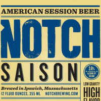 Notch Saison label