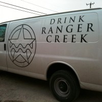 Ranger Creek Brewing van