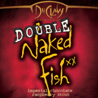 DuClaw Double Naked Fish Imperial Chocolate Raspberry Stout