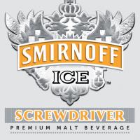 Smirnoff Ice Screwdriver label