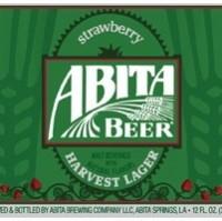 Abita Strawberry Harvest Lager label
