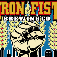 iron fist brewing logo