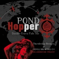 Pond Hopper Double Extra Pale Ale (Odell and Thornbridge)