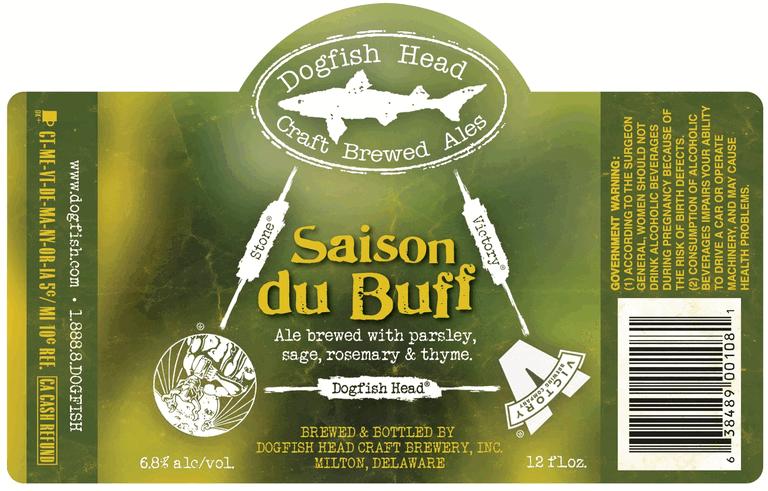 saison du buff dogfish head victory stone