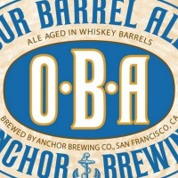 Anchor Our Barrel Ale keg label