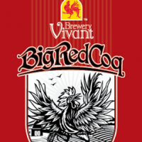 Brewery Vivant Big Red Coq Hoppy Belgo-American Red Ale