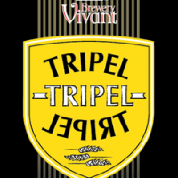 Brewery Vivant Tripel label