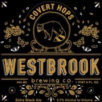 Westbrook Covert Hops Black Ale
