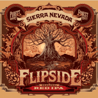 Sierra Nevada Flipside Red IPA label