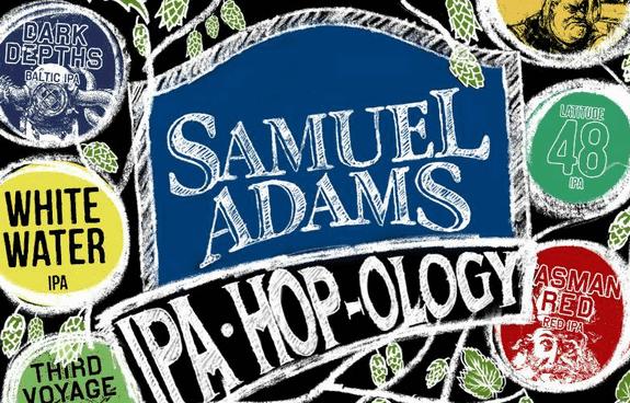 Samuel Adam IPA Hopology variety pack