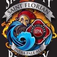 Silver City Saint Florian India Pale Ale label