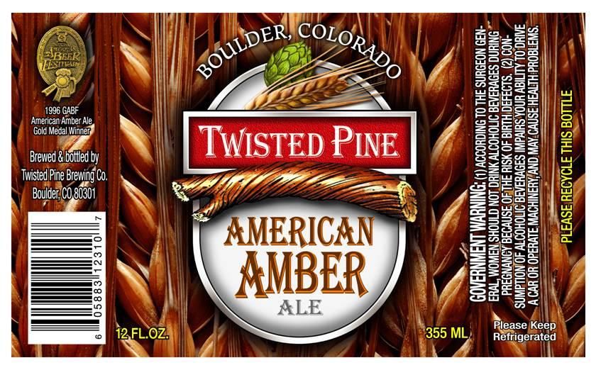 Twisted Pine American Amber Ale | BeerPulse
