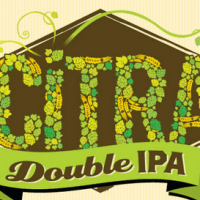 kern river citra double ipa label