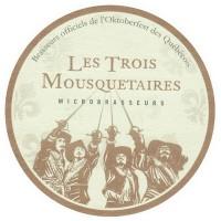 les trois mousquetaires brewery logo