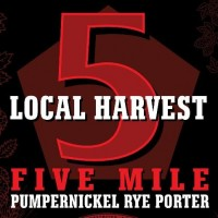 ipswich local 5 harvest pumpernickel rye porter label