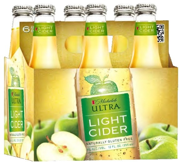 michelob ultra light cider 6pk