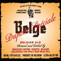 dupont special belge beer