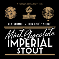 Mint Chocolate Imperial Stout (Stone and Iron Fist)