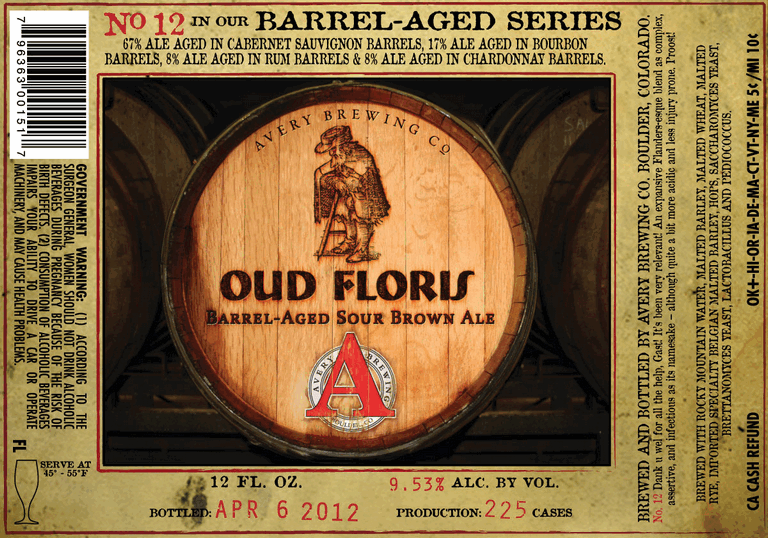 Avery Oud Floris Barrel-aged Sour Brown Ale