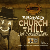 Barrel-aged Church on a Hill Barley Wine