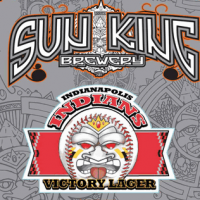 Sun King Indianapolis Indians Victory Lager