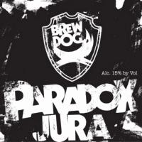 BrewDog Paradox Jura Scotch Whiskey Barrel-aged Imperial Stout