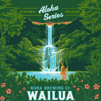 Kona Wailua Wheat label