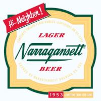 Narragansett Lager 1953 Retro Can