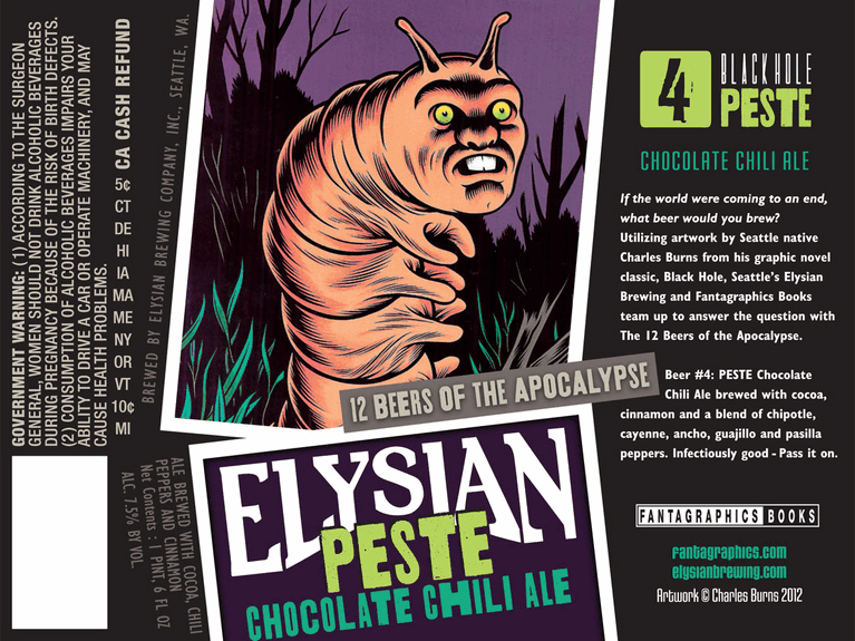 Elysian Peste Chocolate Chili Ale