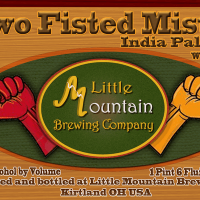 Little Mountain Two Fisted Mister IPA