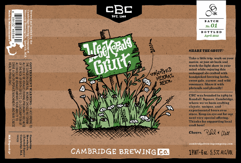 Cambridge Weekapaug Gruit