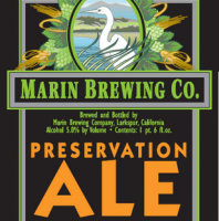 marin preservation ale label
