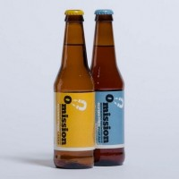 omission beer bottles
