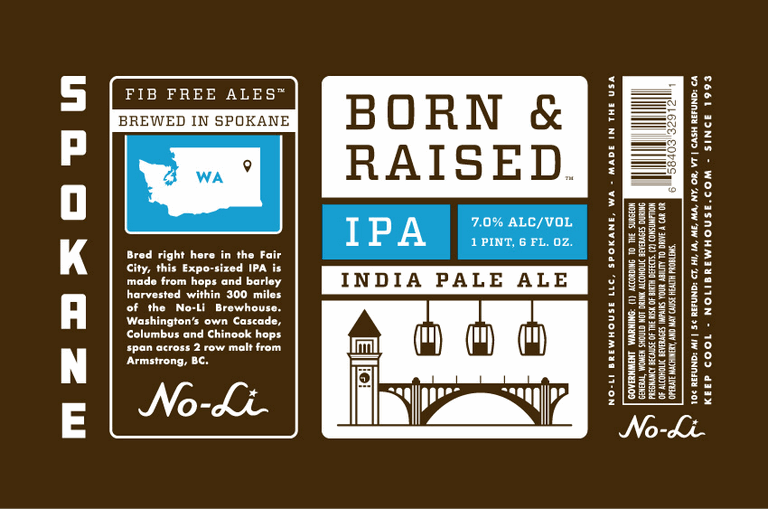 No-Li Born and Raised IPA
