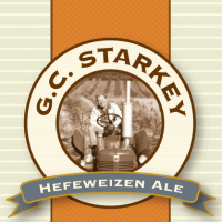GC Starkey Hefeweizen Ale Label
