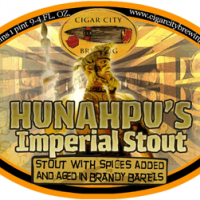 Cigar City Brandy Barrel-Aged Hunahpu's Imperial Stout