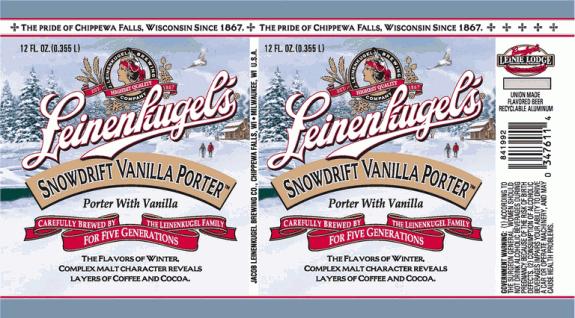 Leinenkugels Snowdrift Vanilla Porter