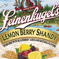 Leinenkugel's Lemon Berry Shandy label