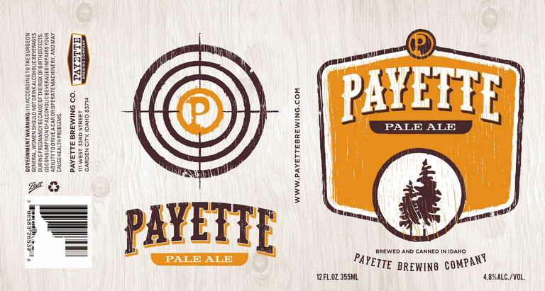 Payette Pale Ale can