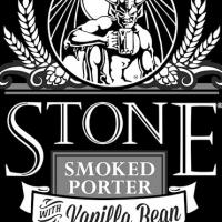 Stone Smoked Porter with Vanilla Bean label