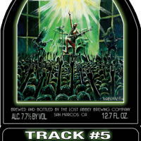 The Lost Abbey Track 5 label